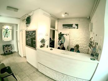 Zagreb Hostel Reception