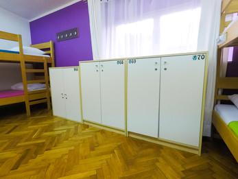 Zagreb Hostel Lockers