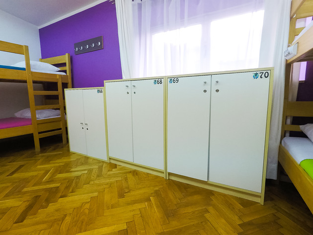 Zagreb Hostel Lockers