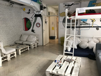 Zagreb Hostel Lounge