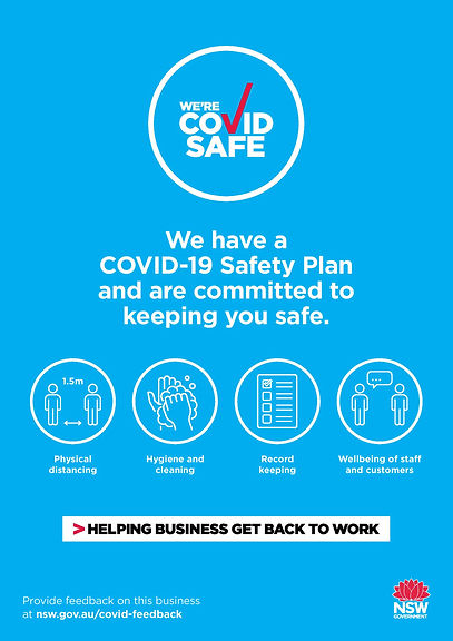 We have a COVID-19 Safety Plan. Click to see more resources