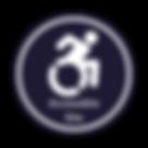 Wheelchair Door Sticker Designs