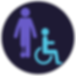 Physical disbility icon