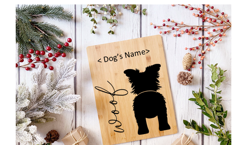 Personalized holder for dog accessories