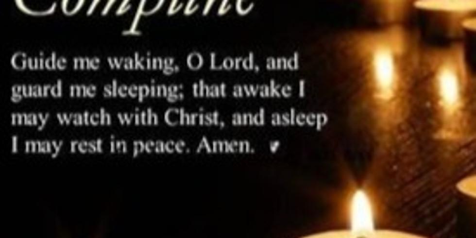 Wednesday Evening Compline Prayers