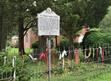 St. Thomas' Prayer Wall - In the Southern Maryland news