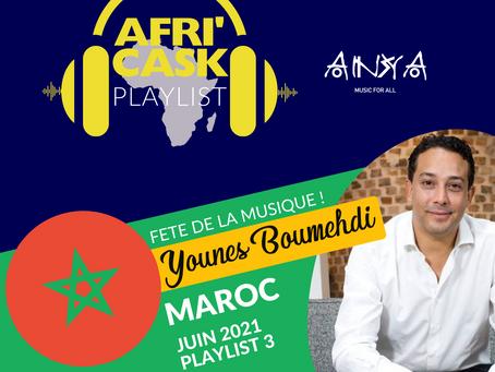 Afri'Cask Maroc - Spécial de la Fête de la Musique : Dans le casque de Younes Boumehdi