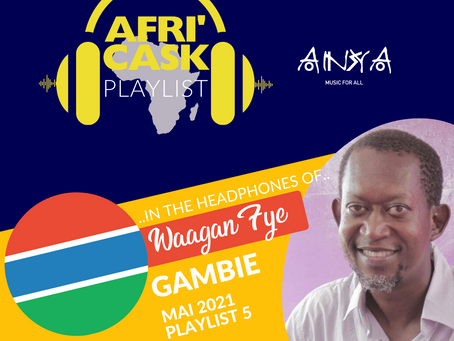 Afri'Cask Gambie : Dans le casque de Waagan Fye