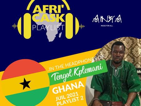 Afri'Cask Ghana : Dans le casque de Tengol K. Kplemani
