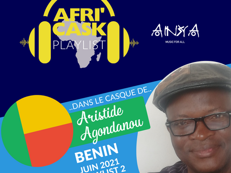 Afri'Cask Bénin : Dans le casque d'Aristide Agondanou
