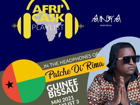 Afri'Cask Guinée-Bissau : Dans le casque de Patche Di Rima
