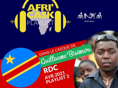 Afri'Cask RDC : Dans le casque de Guillaume Bisimwa