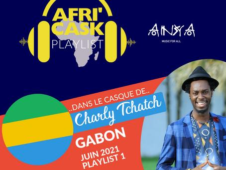 Afri'Cask Gabon : Dans le casque de Charly Tchatch