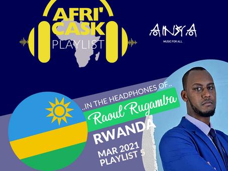 Afri'Cask Rwanda : Dans le casque de Raoul Rugamba