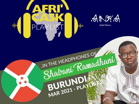 Afri'Cask Burundi : Dans le casque de Shabani Ramadhani