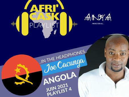 Afri'Cask Angola : Dans le casque de Joe Cacunga