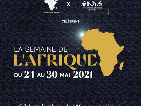 Anya et Visa For Music ont célébré  le Semaine Internationale de l'Afrique !