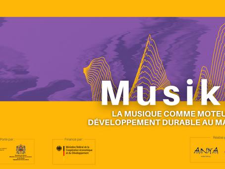 """""""Musika"""", un programme réalisé par Anya et la Fondation Hiba"""