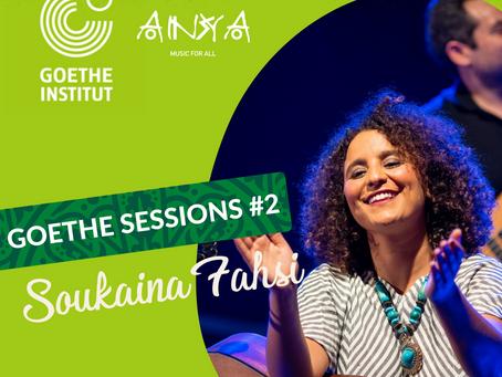 GOETHE-SESSIONS #2 : Soukaina Fahsi