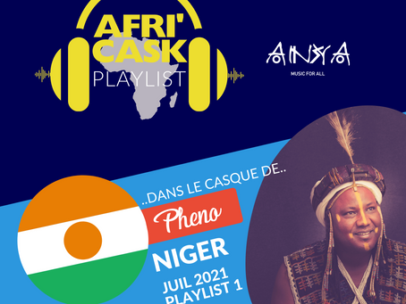 Afri'Cask Niger : Dans le casque de Pheno