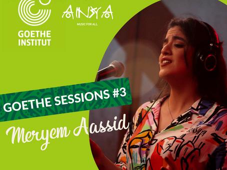 GOETHE-SESSIONS #3 : Meryem Aassid - Jazz'Amazigh