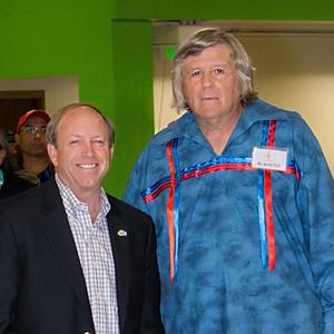 Mayor John Suthers,  Al and Rhetta