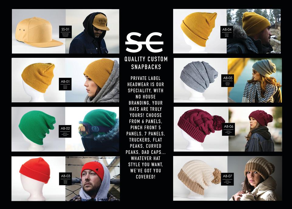 SnapCity   Custom Hat Catalog   Dubai Hats