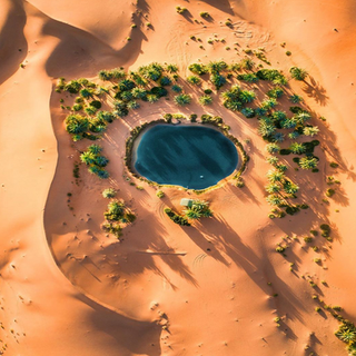 Desert Oasis Drone - Mo2 Film Production Middle East