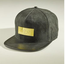 Suede/ Leather Strapback