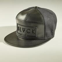 Mix Leather Snapback