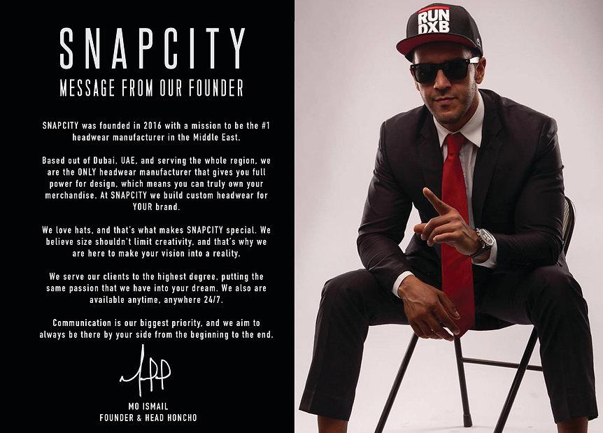 SNAPCITY | Dubai Custom Hats | About Us