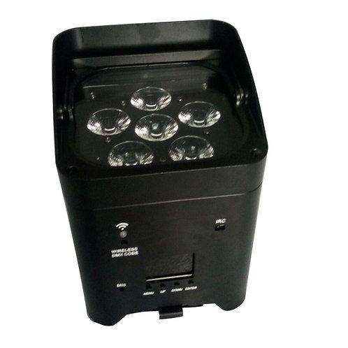 Ex4 RGBWAUV 4x8w Battery Par With Wi-Fi