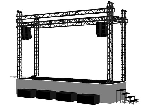 FOHP Mobile Stage 8.1m x 2.4m Stage