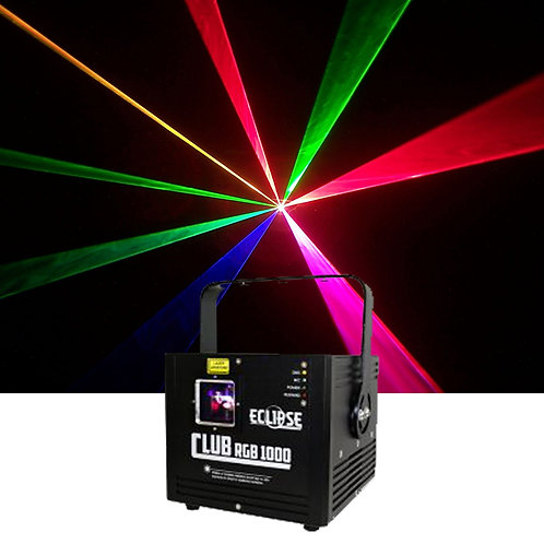 Eclipse Club 1000mw Multicolour Laser