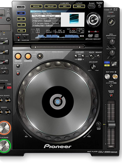 Pioneer CDJ 2000 Nexus CD/USB Player
