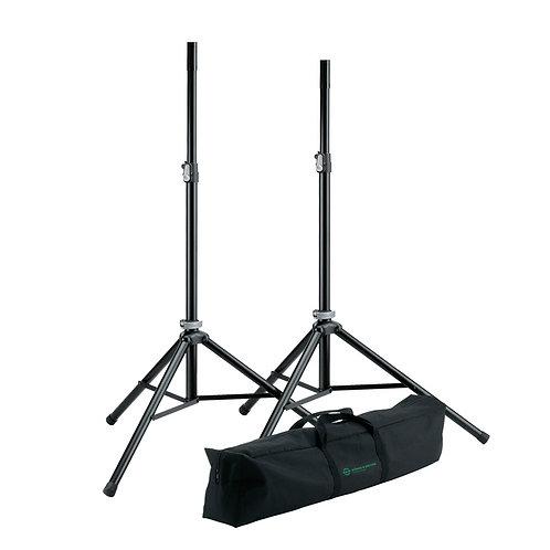 K&M Heavy Duty Speaker Stand Black