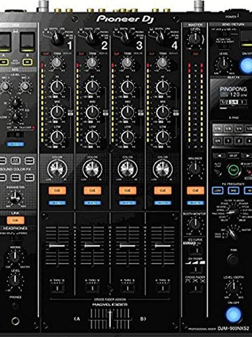 Pioneer DJM 900 Nexus2 4ch DJ Mixer