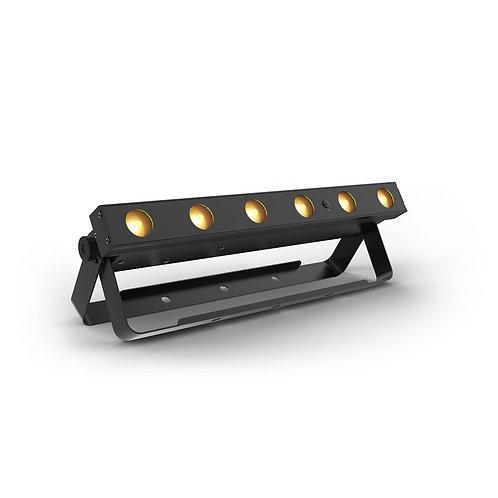 Chauvet EzLink Q6 RGBA 6x3w Battery Wash Bar