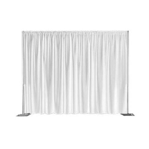 Velveteen Light-Weight Drape White (3m Wide, 6m Drop)