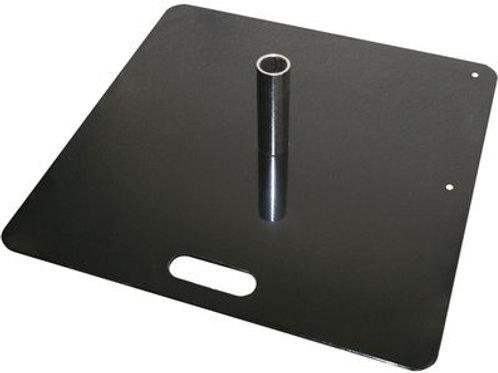 Autopole Drape Stand - 450mm Square Base Plate (Incl. Spigot)