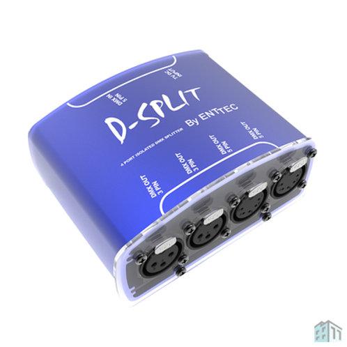 Enttec D-Split 3-Pin & 5-Pin 4 Way Dmx Splitter