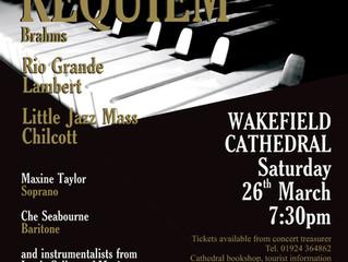 Brahms, Chilcott, and Lambert