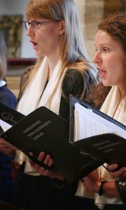 Yorkshire Chamber Choir singing