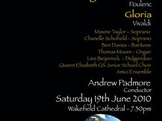 Precious premiere for choir