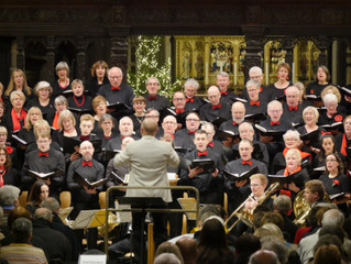 Yorkshire Philharmonic Choir cuts a real dash, with a bit of brass and lots of class!