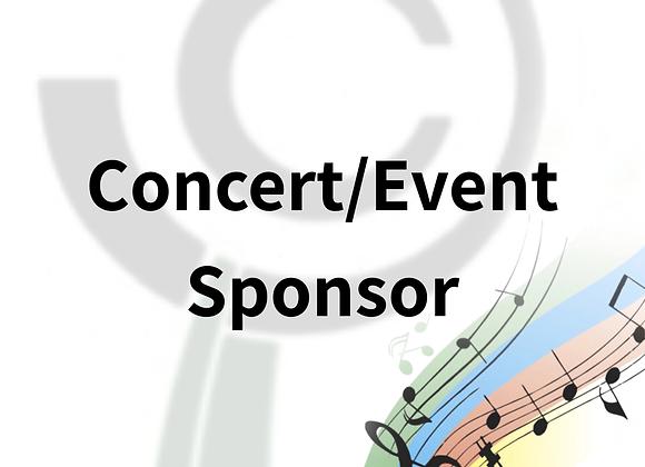 Concert/Event Sponsor