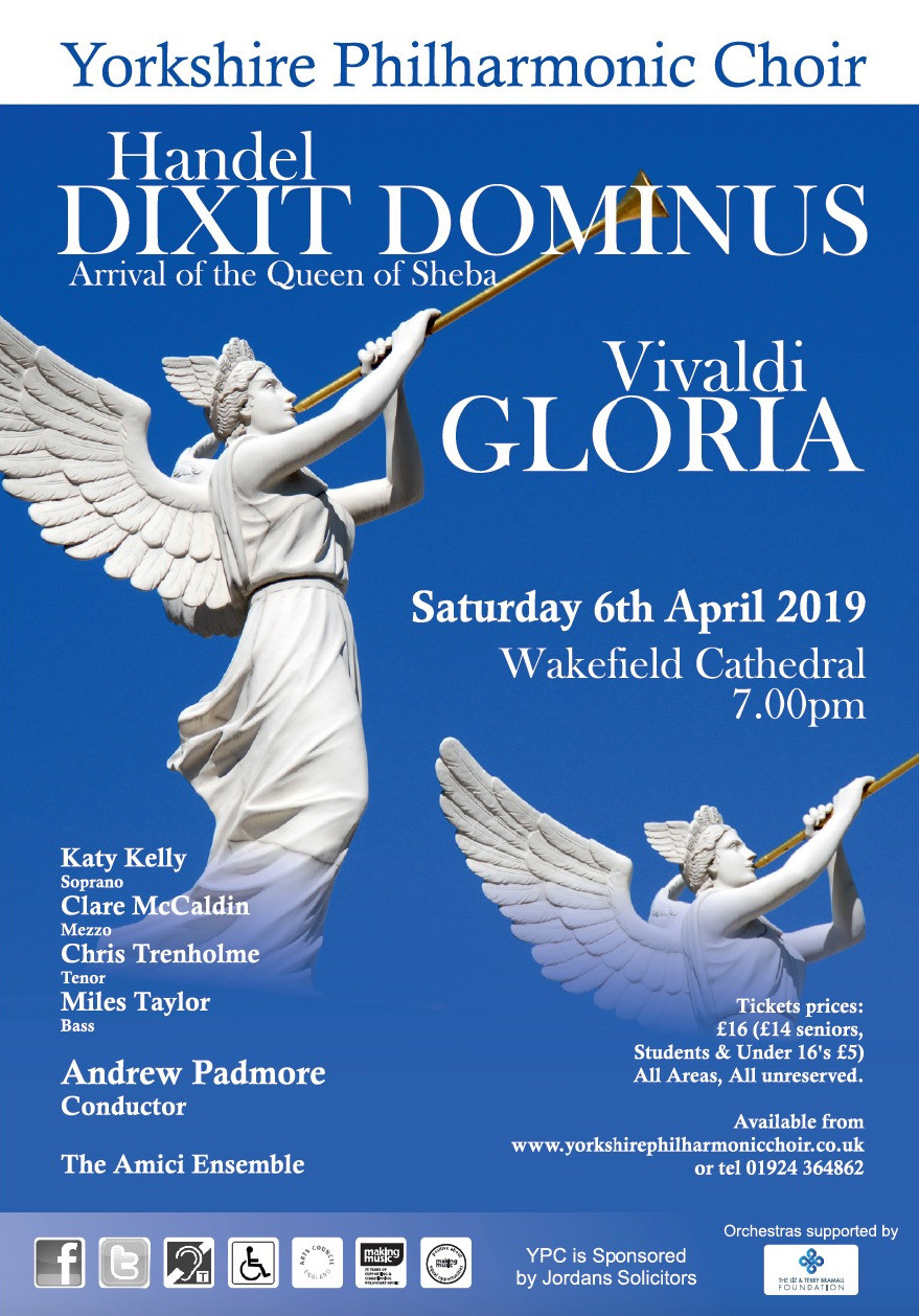 Poster for Concert on 6 April 2019