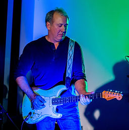 Rob Bowerman guitarist with the Treefrogs