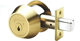 High security medeco deadbolt