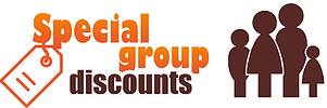We offer group discounts